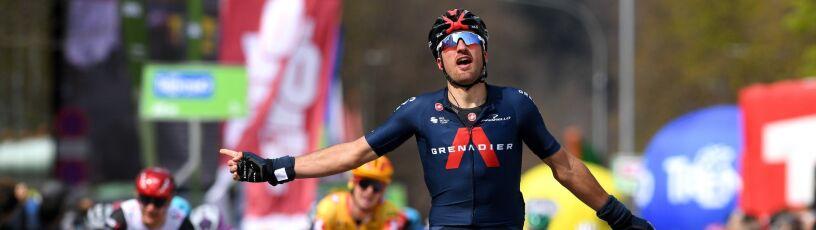 Moscon otworzył wynik próby generalnej przed Giro
