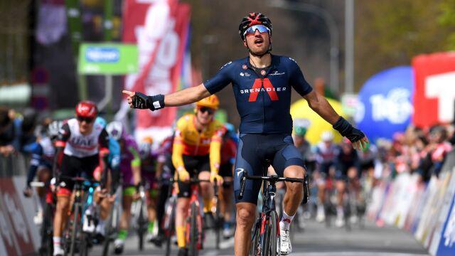 Moscon otworzył wynik próby generalnej przed Giro d'Italia