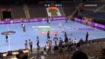 Skrót meczu Fuechse Berlin – HB Montpellier w ćwierćfinale Ligi Europejskiej