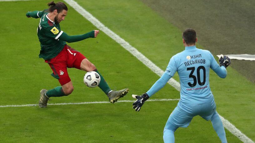 Kolejny gol Krychowiaka, Lokomotiw w finale Pucharu Rosji