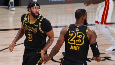 Lakersi w połowie drogi. Osłabione Miami Heat bez argumentów