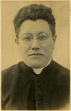 Ks. Bolesław Szawłowski, ostatni proboszcze w parafii poryckiej, zamordowany 11 lipca 1943 r. podczas odprawiania mszy. Zbiory Piotra Filipowicza