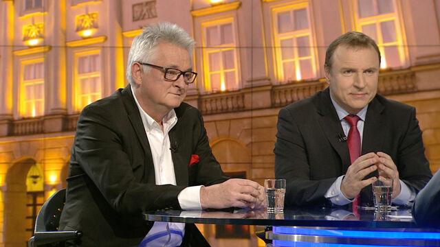 """Mirosław Drzewiecki i Jacek Kurski w """"Faktach po Faktach"""""""