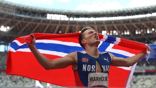 """Złoto olimpijskie, rekord świata i """"pustka"""". Mistrz z Tokio myśli o nowych konkurencjach"""
