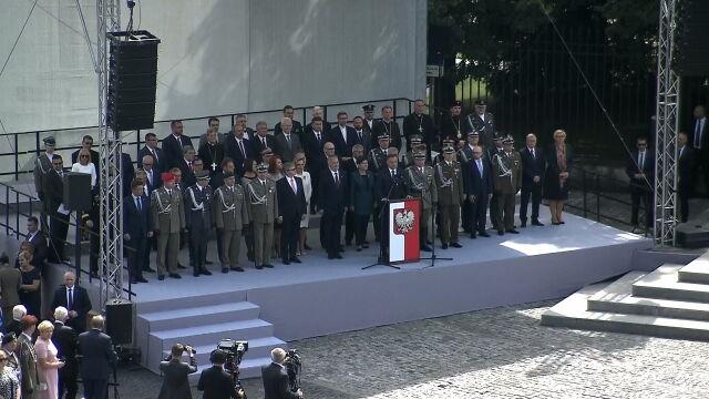 Przemówienie prezydenta Andrzeja Dudy z okazji Święta Wojska Polskiego