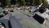 Czołgi Leopard na defiladzie z okazji Święta Wojska Polskiego