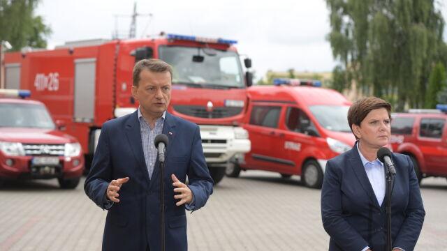 Błaszczak: samorządy otrzymały ponad 42 mln zł na wsparcie