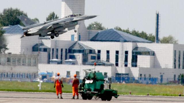 1700 awarii polskich F-16