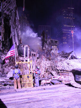 Nieznane zdjęcia po ataku na World Trade Center