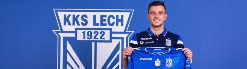 Czołowy piłkarz serbskiej ligi w Lechu Poznań