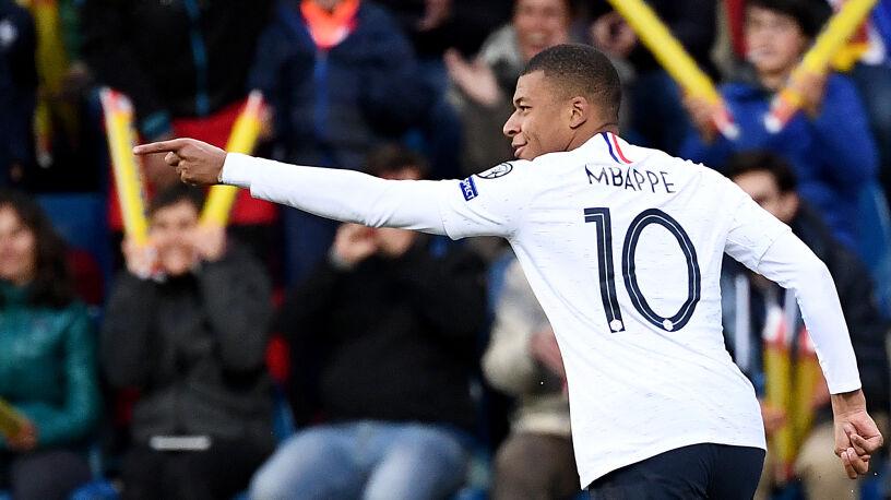 """Mbappe chce zagrać na Euro, a chwilę później na igrzyskach. """"To moje marzenie"""""""