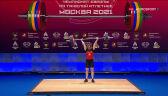 Wołk 10. w kategorii do 64 kg w mistrzostwach Europy w podnoszeniu ciężarów
