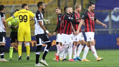 Sędzia wyrzucił Ibrahimovicia z boiska. Milan poradził sobie bez niego