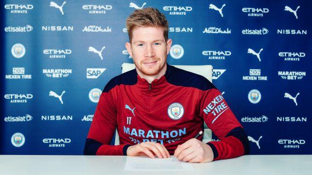 Najważniejszy podpis w Manchesterze. Kevin De Bruyne dłużej w City