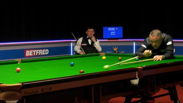 Hendry pokonał White'a w 1. rundzie kwalifikacji do mistrzostw świata