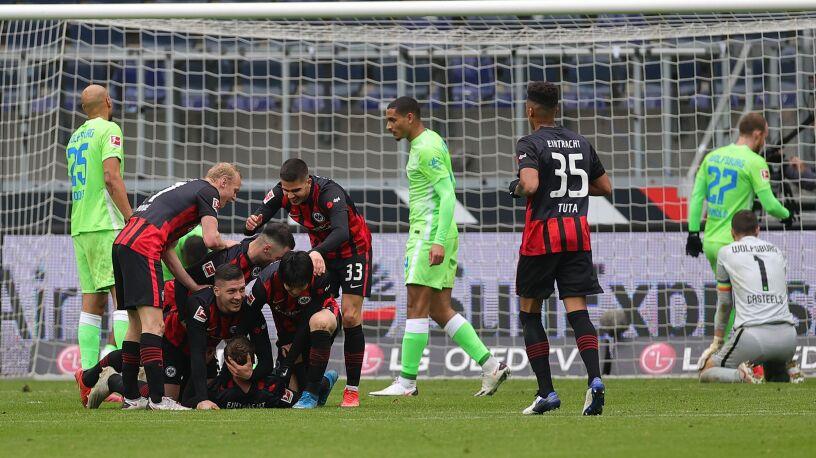 Koncert Eintrachtu. Liga Mistrzów coraz bliżej