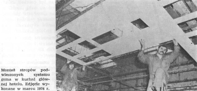 Montaż stropów