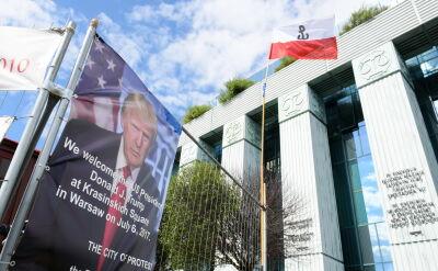 """Były ambasador: wizyta Trumpa w Warszawie """"dopracowana bardzo precyzyjnie"""""""