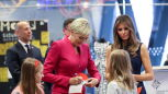 Melania Trump visited the Copernicus Science Center