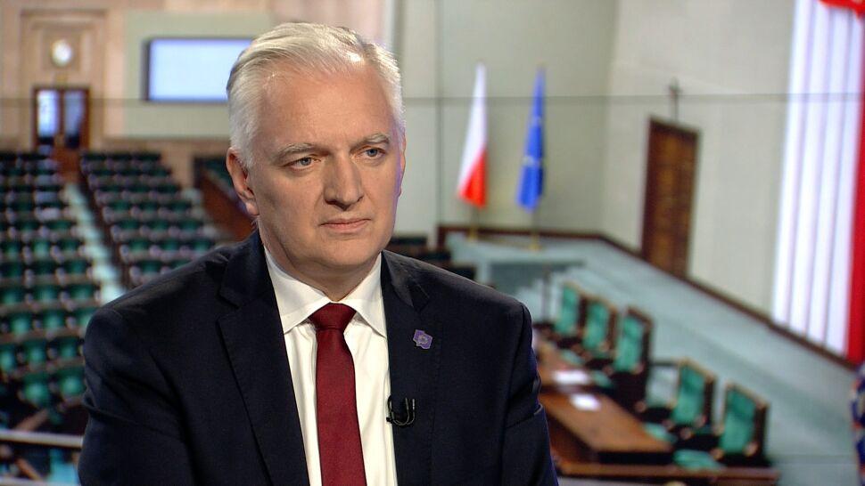 """Jarosław Gowin w """"Faktach po Faktach"""""""