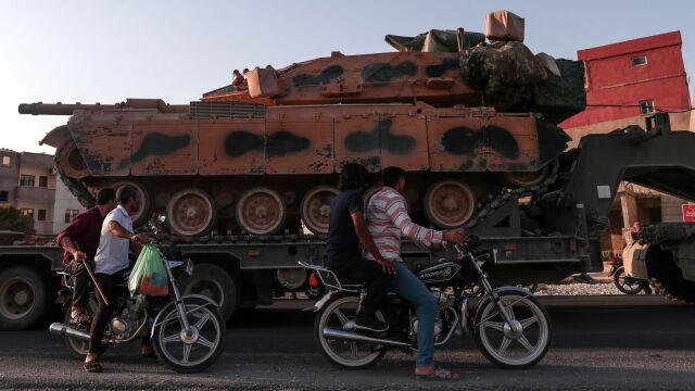 Unia nie zdecydowała się na zakaz sprzedaży broni, ale Turcję