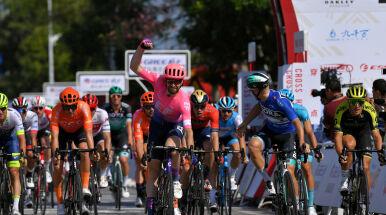 McLay najszybszy na drugim etapie Tour of Guangxi. Dwóch kolarzy CCC w czołówce