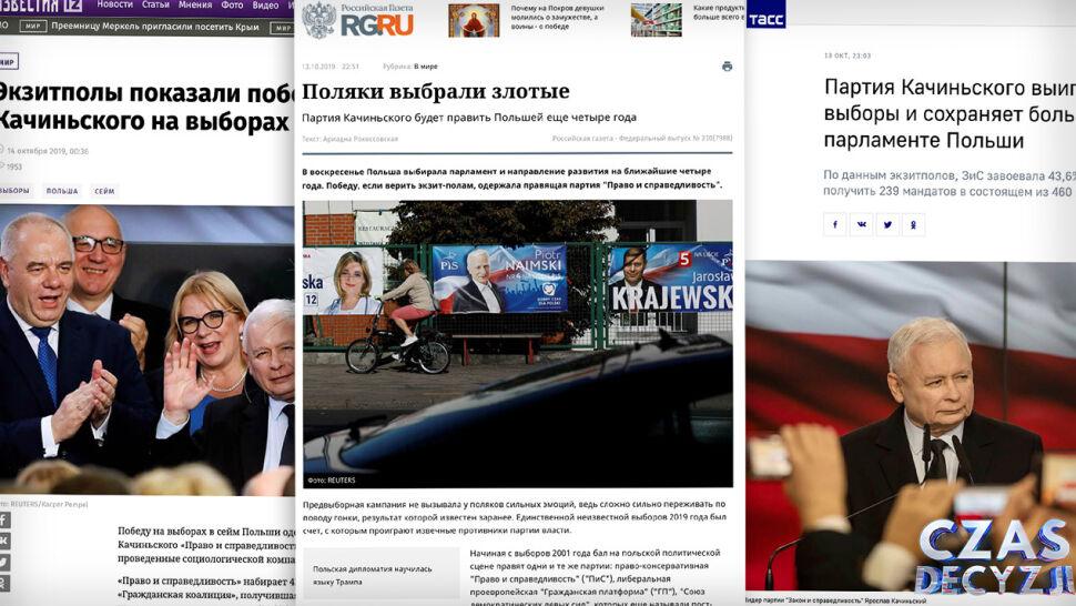 Rosyjska prasa ocenia wynik wyborów parlamentarnych w Polsce