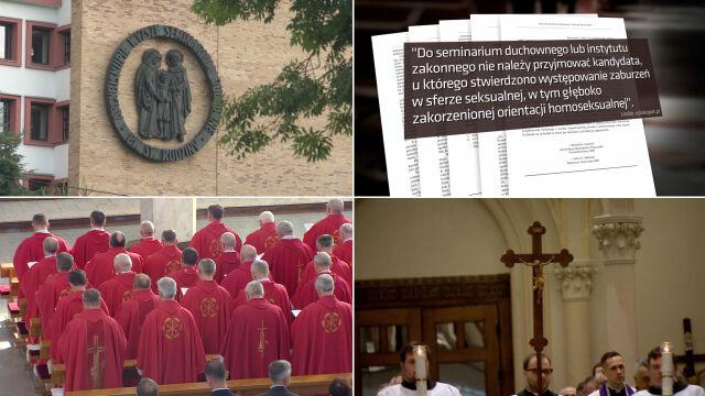 Seminaria sprawdzają seksualność.  Nie chcą pedofili i homoseksualistów