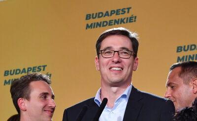 Gergely Karacsony wygrał wybory na prezydenta Budapesztu