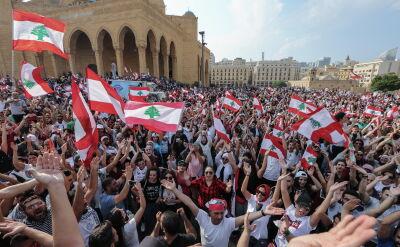 Czwarty dzień antyrządowych protestów w Libanie