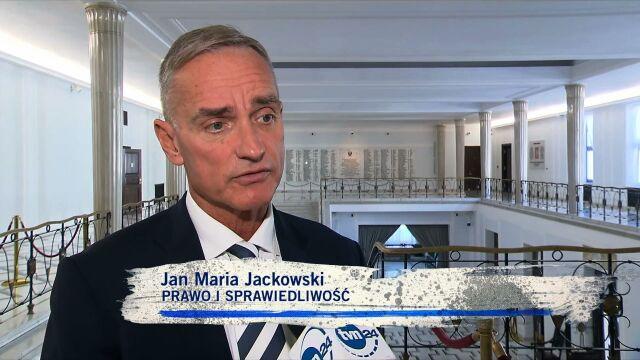 Jan Maria Jackowski, PiS