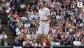 Hurkacz pokonał Miedwiediewa w 4. rundzie Wimbledonu