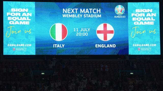 Wielki finał Euro 2020. Anglicy chcą sukcesu przed własną publicznością