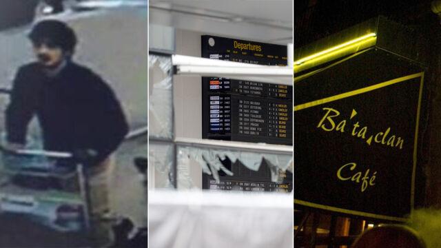 Szukali go po zamachach w Paryżu,  wysadził się na lotnisku w Brukseli