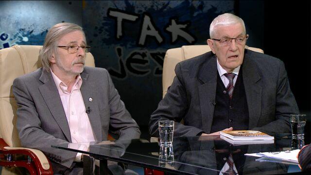prof. Maciej Giertych i prof. Zbigniew Mikołejko w Tak Jest