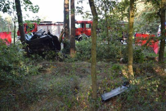 Cztery osoby zginęły w wypadku