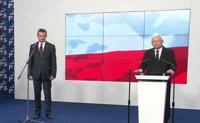 Kuchciński: informuję, że w dniu jutrzejszym zamierzam złożyć rezygnację z funkcji marszałka Sejmu