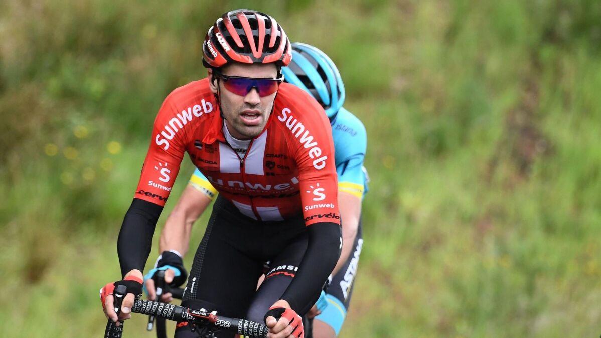 Tom Dumoulin zmienił pracodawcę. Jego nowa grupa chce wygrać Tour de France