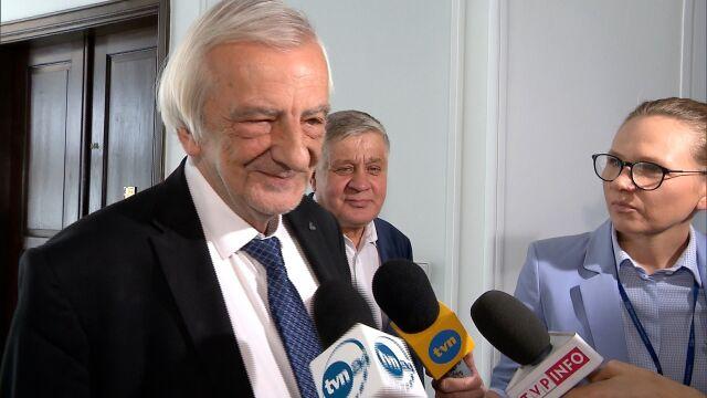 Ryszard Terlecki o kandydaturze Elżbiety Witek na stanowisko marszałka Sejmu