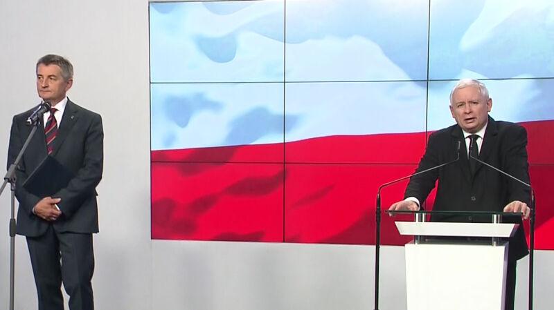 Kaczyński: Pan marszałek nie złamał prawa
