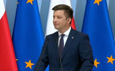 """Dworczyk zaprezentował """"trzy filary"""" ustawy o organizacji lotów najważniejszych osób w państwie"""