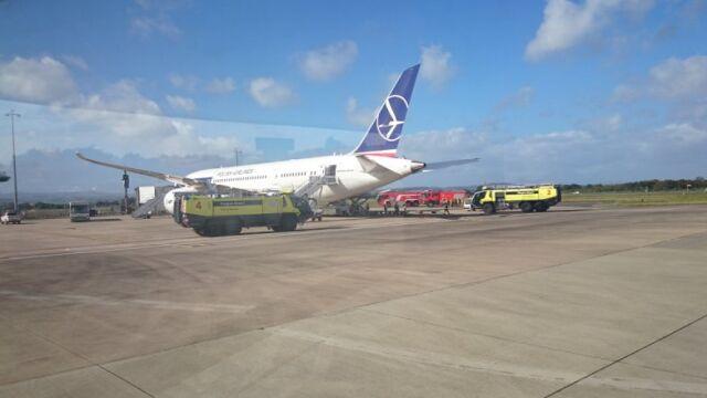 Pasażer dreamlinera: po wylądowaniu były brawa. Powrót do Polski tą samą maszyną