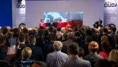 Całe wystąpienie Andrzeja Dudy po ogłoszeniu sondażowych wyników wyborów