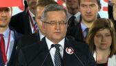 Komorowski: Wzywam mojego kontrkandydata do debaty