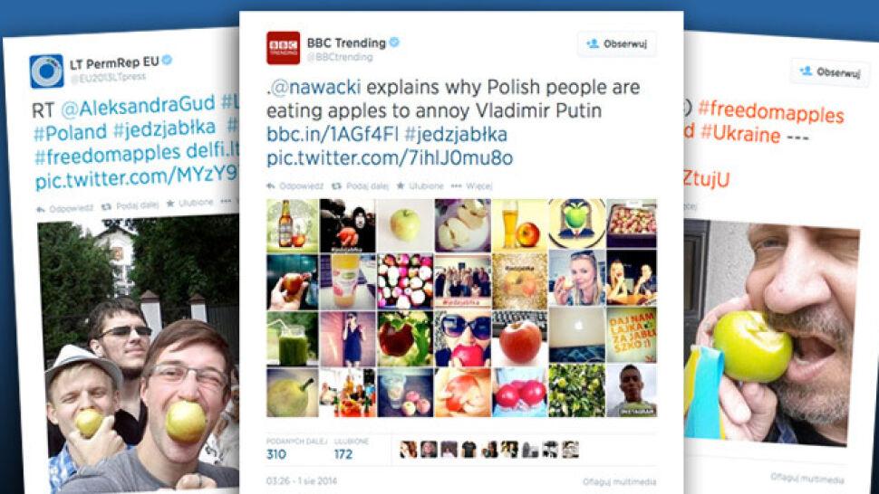 Polskie jabłka to już #FreedomApples. Akcja #JedzJabłka przekracza granice