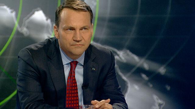 Rosja zainterweniuje na Ukrainie?  Sikorski: szybko się dowiemy, ale szczerze bym odradzał