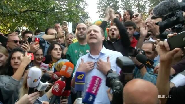 Kandydat na prezydenta Gruzji zatrzymany. Miał rozdawać skręty z marihuaną