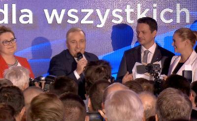 Schetyna: chcę pogratulować tym prezydentom, burmistrzom, którym udało się wygrać w pierwszej turze