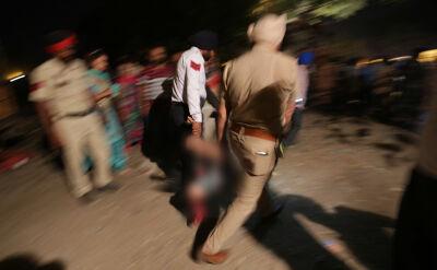 Dziesiątki zabitych i setki rannych w katastrofie kolejowej w Indiach