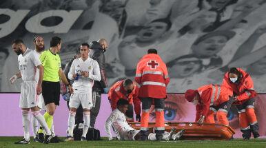 Dłuższa przerwa piłkarza Realu Madryt. Może pauzować nawet trzy miesiące